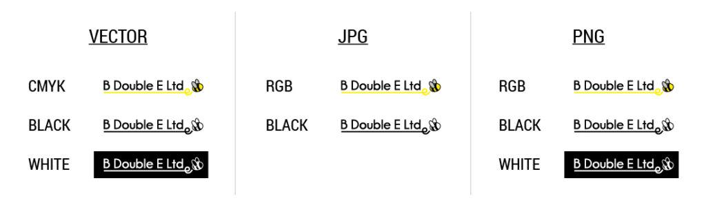 Logo file formats
