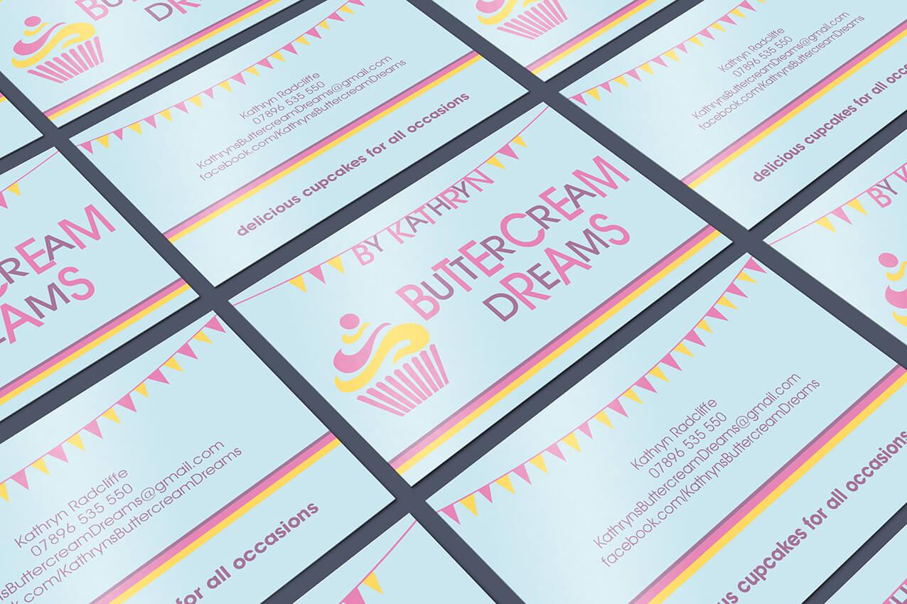 Buttercream Dreams business cards