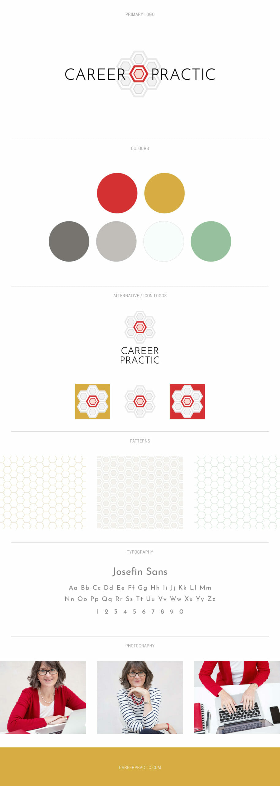 Career Practic brand identity by B Double E