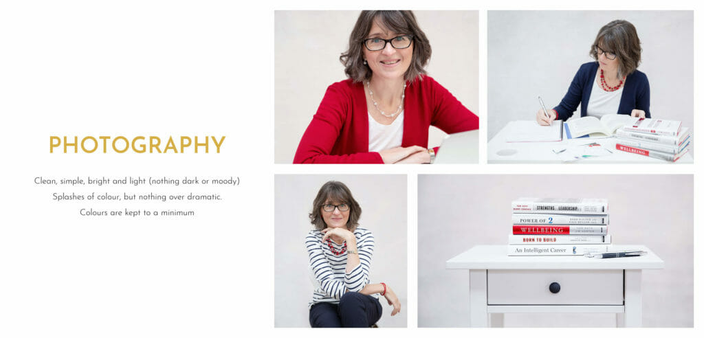 Career Practic branding photography style guide