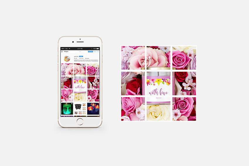 PartyLite instagram promotion