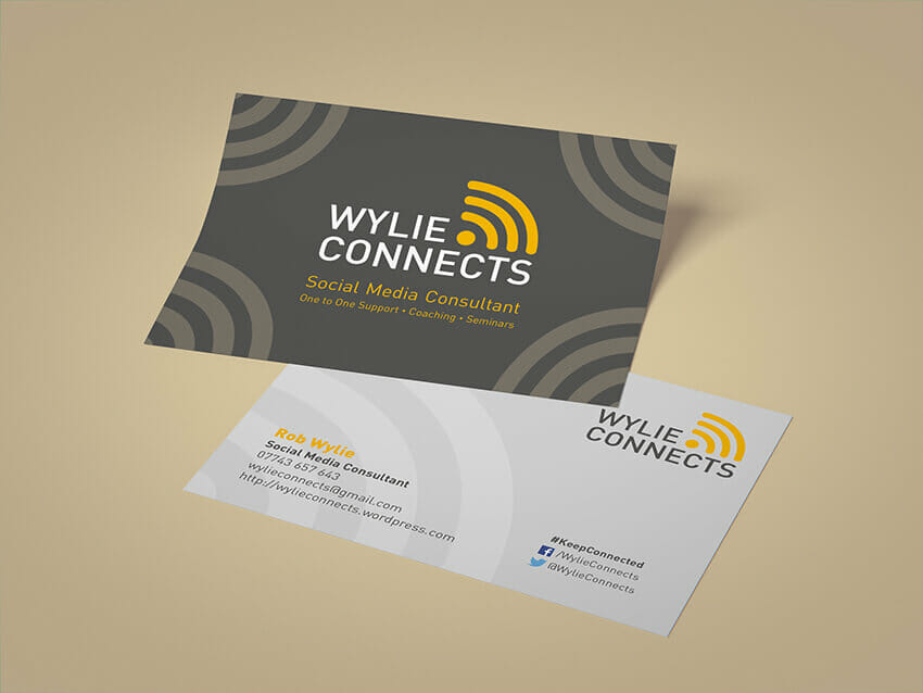 Wylie Connects postcards