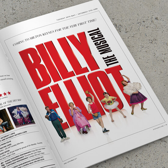 Billy Elliot The Musical tour promotion
