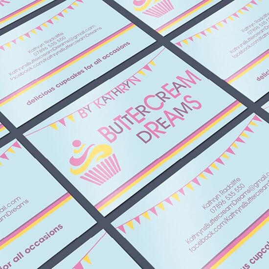 Buttercream Dreams branding and logo design