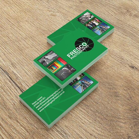 Fresco Photography branding and logo design