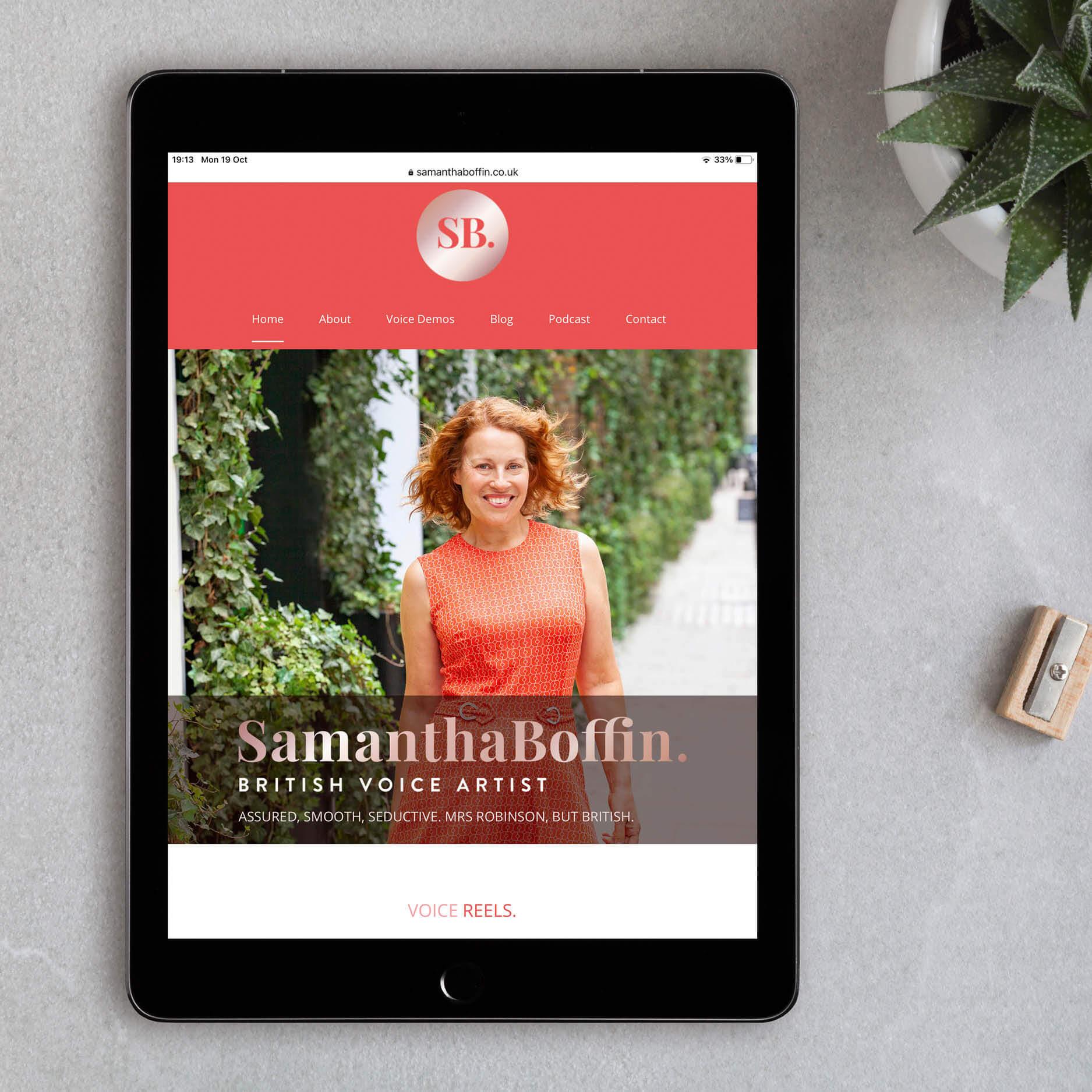 samantha boffin voiceover website
