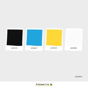 Winder season brand personality colour palette
