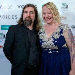 Rob and Helen Bee (B Double E) at VOX 2019