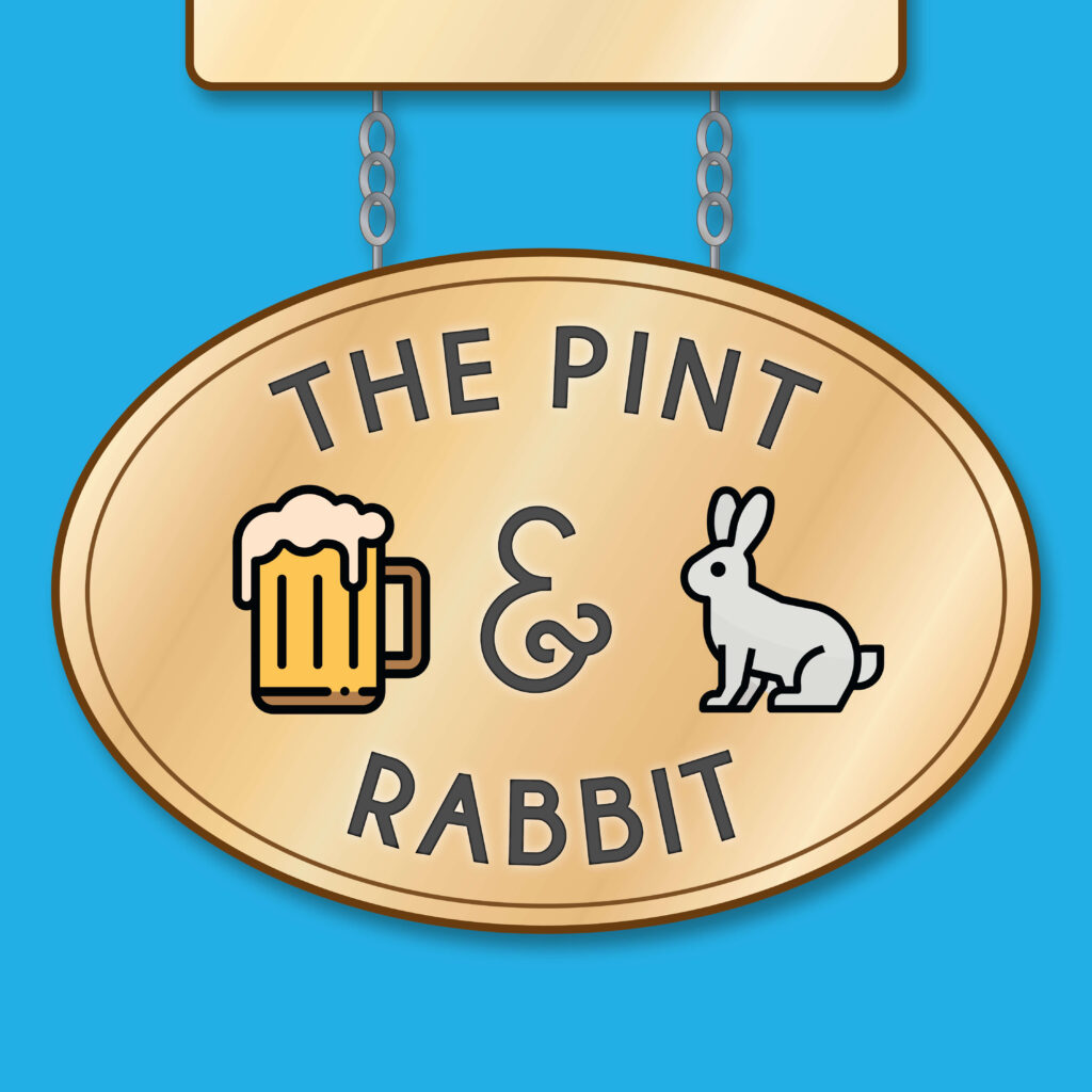 The Pint and Rabbit voiceover social