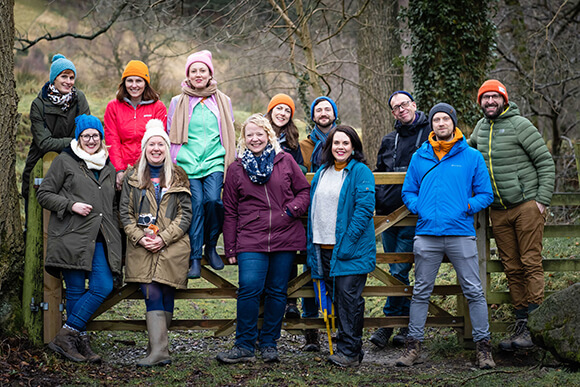 Wilderness Tonic retreat at The Gathering in Edale. (Photo by Kenny Clayton)