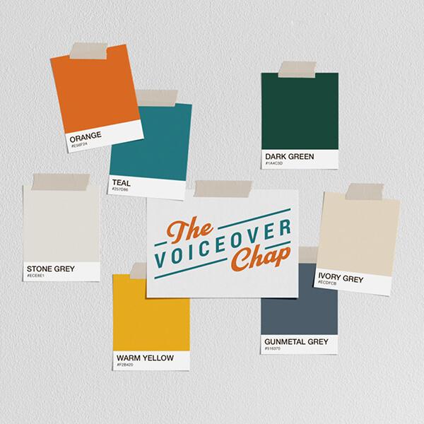 Liam Gerrard brand colours