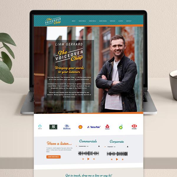 Liam Gerrard voice actor website