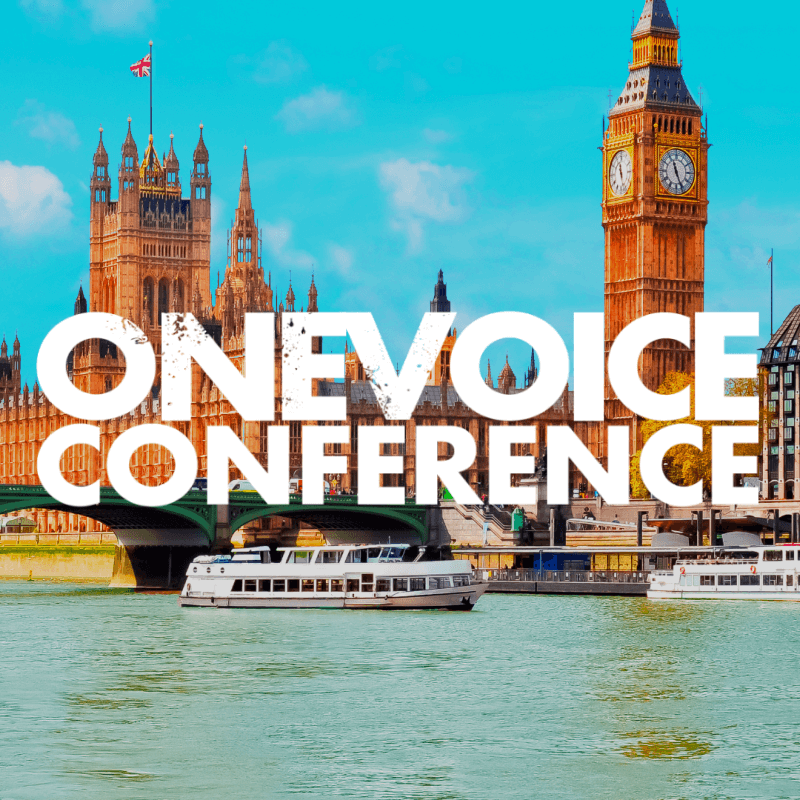 OneVoice Conference UK