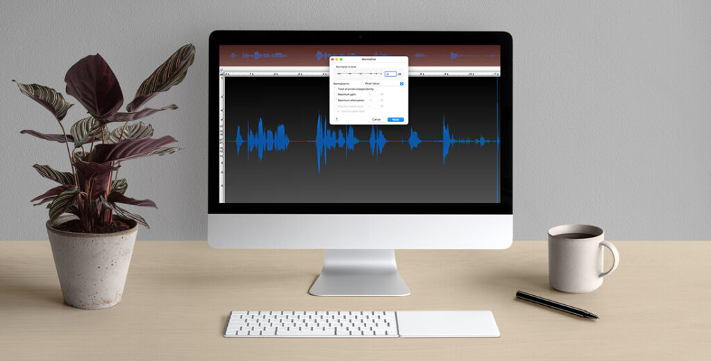 Normalisation for voiceovers
