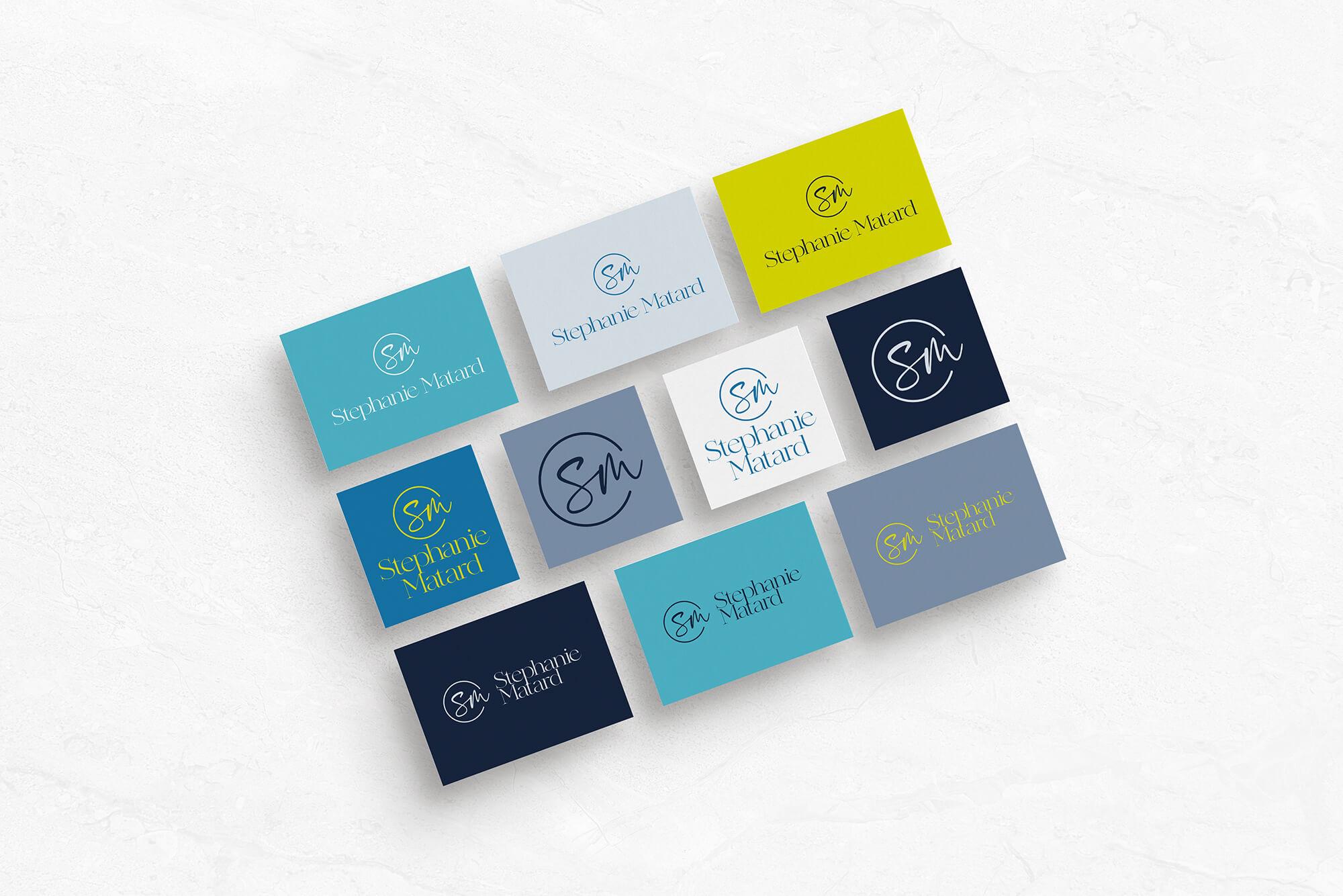 Stephanie Matard-Voiceover - custom logo design