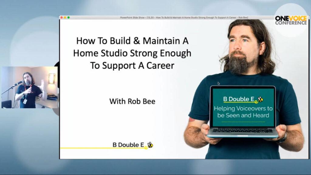 Rob studio talk