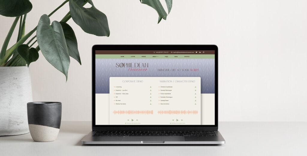 Sophie dean website home page