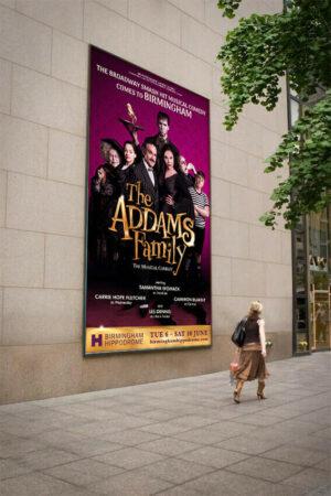 Addams Family Tour 48 Sheet poster