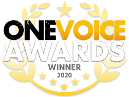 One voice award winner 2020